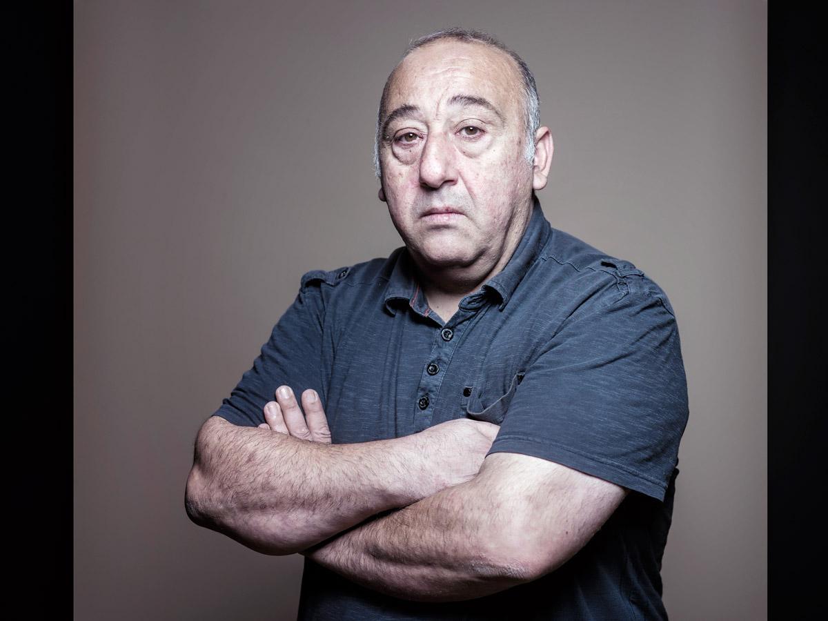 Simon Ferrante. Comédien
